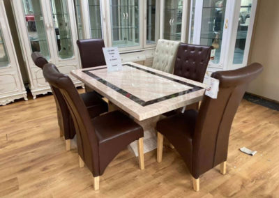 Italian Furniture Table and Chairs